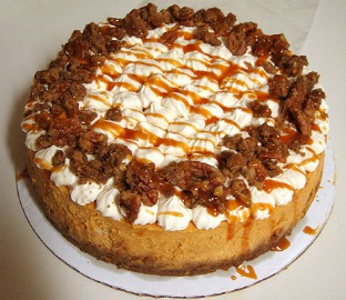 Pumpkin Pecan Cheesecake Pots Recipes — Dishmaps